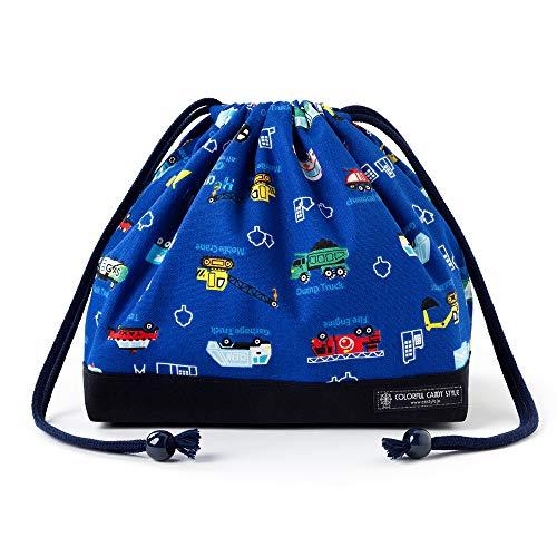 Auto Kordelzug Gokigen Arbeitsessen (mittlere Gr??e) mit Zwickel Lunchpaket mit Vollgas (royal blau) x Ox navy blue in Japan N3469600 (Japan-Import) gemacht