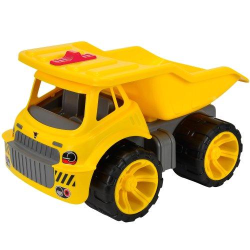 Preisvergleich Produktbild Big Maxi Truck mit Softreifen, 25kg belastbar, TÜV-GS Geprüft, 3 Jahre Garantie: Spielzeug LKW Kipper Kipplaster Laster Soft Spielzeugautos