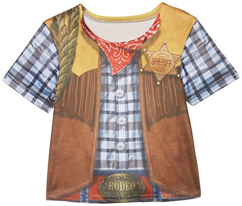 Rubie's 2630863M Cowboy T-Shirt Child, Kostüm für Kinder, M