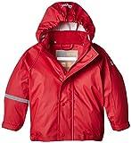 CareTec Kinder wasserdichte Regenjacke (verschiedene Farben), Rot (Red 402), 104