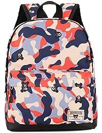 Preisvergleich für Caflyibag Rucksack für Kleinkinder, Mädchen, Schultaschen, Tarnmuster