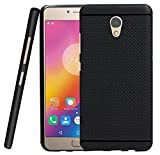 Jkobi® 360* Protection Premium Dotted Designed Soft Rubberised Back Case Cover For Lenovo P2 -Black