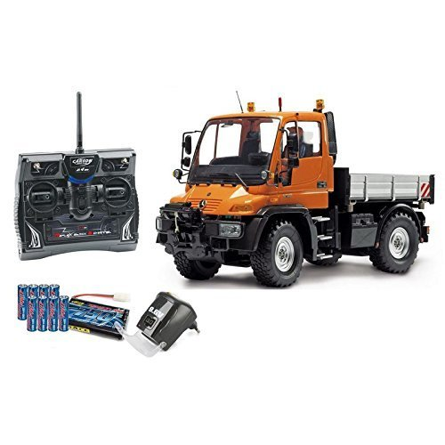 Carson 01:12 Functional model Mercedes Benz Unimog U300 with remote control (500907170) by Carson