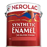 #6: Generic Nerolac Synthetic Enamel Paint 200ml. Blue