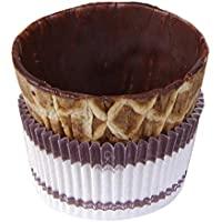 Pidy Chocolate Coated Waffle Coffee Cups (Pack of 96)