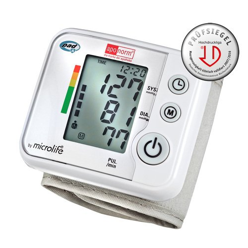 aponorm Blutdruckmessgerät Mobil Basis Handgelenk, 1 St