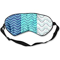 Comfortable Sleep Eyes Masks Colored Waves Pattern Sleeping Mask For Travelling, Night Noon Nap, Mediation Or... preisvergleich bei billige-tabletten.eu