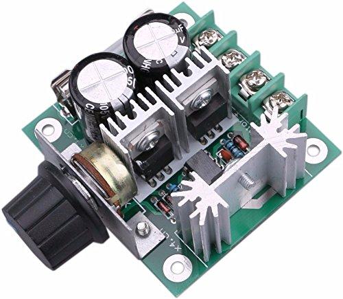 DC-Motor Speed Controller 10V-40V 10A PWM-Controller DC 12V 24V 36V Variable-V-Regler Lüfter Dimmer Regler stufenlos Motor Speed Control Regler mit Verpolschutz (Speed Motor Control)
