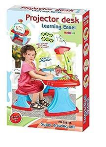 Shatchi 21064-PROJECTOR-DESK Caballete de Aprendizaje Multiusos Artistic Projector Desk para niños pequeños Play Spelling Dibujo Tabla Regalos Early Educations