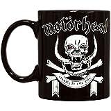 King of Merch - Tasse - Motörhead March Or Die England Lemmy Kilmister Rock N' Roll Metal Hard Rock The World Is Yours Ace Of Spades Band Kaffeebecher Iron Cross Eisernes Kreuz