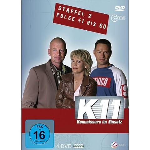 K 11 - Kommissare im Einsatz, Staffel 2, Folge 41-60 [4 DVDs]