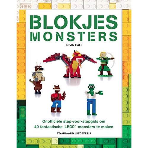 Blokjesmonsters: onofficiële stap-voor-stapgids om 40 fantastische Lego-monsters te maken