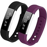 Bepack Fitbit Alta HR Cinturino,TPU Molle Silicone Regolabili Braccialetto Banda per Fitbit Alta Heart Rate