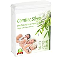 Waterproof Bamboo Mattress protector Breathable and non noisy Anti bacterial and fully fitted