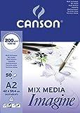 Canson 200006003 Imagine Mix-Media Papier