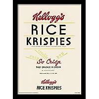"30 x 40 cm Kelloggs samfme ""Krispies"" impresión enmarcada"