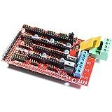 Reprap Arduino Mega Pololu compatible Shield (Ramps) 1.4para impresora 3d, Prusa Mendel