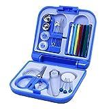 TOOGOO Nuevo Caliente Mini caja de costura de viaje portatil con hilos de aguja de color kit de...