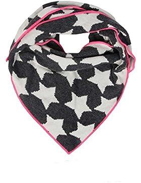 Dreieckstuch mit Kaschmir - Hochwertiger Schal mit Sternen für Baby-s Jungen und Mädchen - XXL Hals-Tuch und Damen...