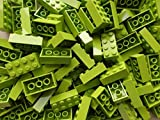 LEGO Bricks: Lime Green 2x4. Part 3001 (X 25) by LEGO