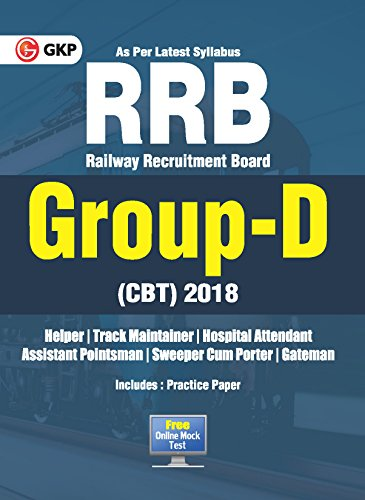 Railway Recruitment Board (RRB) Group-D (CBT) 2018