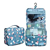 Generic Portable Travel Folding Make up Toiletry Bags with Hook Organizer