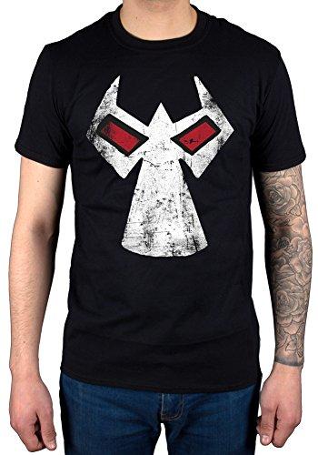 Official DC Comics Batman Bane Mask T-Shirt The Dark Knight Comic Book Trilogy Superhero