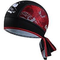 Cheji 2018 Moda Sombrero de Bicicletas Unisex Respirable Secado Rápido Pañuelo Cabeza Bufanda Gorra Ciclismo para Bici Deportes al Aire Libre