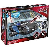 Jackson Storm von Revell Junior Kit - Disney Cars 3 - cooler Bausatz für Kinder ab 4 Jahren zum Schrauben, Basteln und Spielen, robust, mit Light & Sound Effekten - 00861