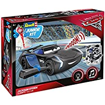 Revell RV00861 Cars 3 Jackson Storm Junior Kit RC, Nero
