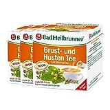 Bad Heilbrunner® Brust- und Husten Tee - Tassenfertig - 3er Pack
