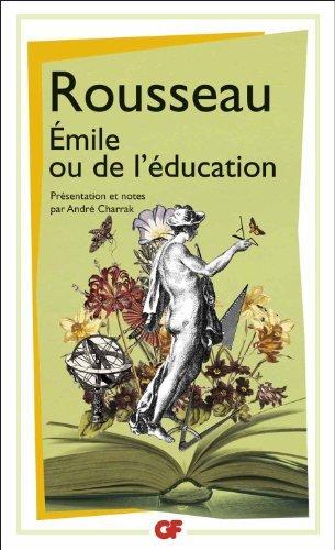 By Jean-Jacques Rousseau - Emile Ou De L'education Edition Andre Charrak
