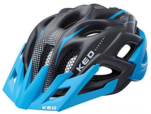 KED STATUS JUNIOR 2016 Kinder-und Jugendlichen Fahrradhelm alle Farben und Größen, Größe:52-58 cm;Farbe:blue black matt