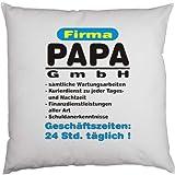 Cooles Deko-/Sofakissen: Firma PAPA GmbH... ...Geschenktip!! Größe ca.40x40cm;
