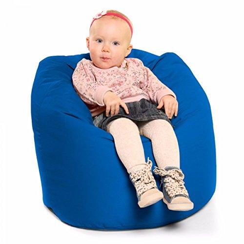rucomfy Bean Bags bequem kleinen Griff Sitzsack–Blaugrün