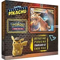 Pokemon TCG: Detective Pikachu Charizard-Gx Case File + 6 Booster Pack + A Foil Promo Card + A Foil Oversize Card