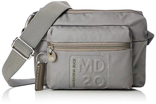 mandarina-duck-womens-md20-tracolla-grey-cross-body-bag-grey-grau-grey-007