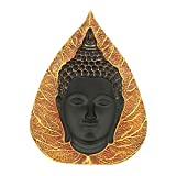 Manisha Idols Orange Leaf With Gold 3D B...