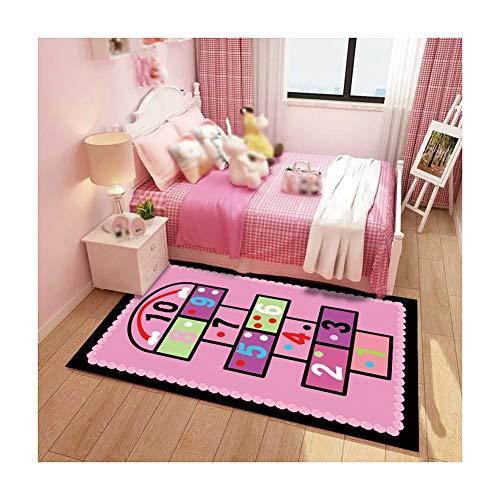 XJJUN-Puzzlematten Baby-Krabbeldecke Rechteck rutschfest Puzzle-Gamepad Fitness Teppich, 5 Farben (Color : B, Size : 200x300cm) -