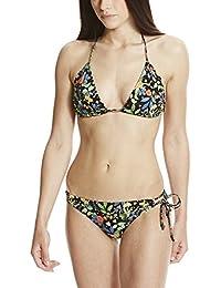 Bench Triangle Floral Bikini, Maillot de Bain Deux Pièces Femme