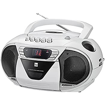 aeg sr 4353 stereo kassetten radio mit cd mp3 toploading. Black Bedroom Furniture Sets. Home Design Ideas