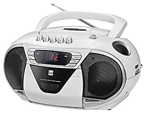 dual p 65 wei portable boombox ukw radio cd player. Black Bedroom Furniture Sets. Home Design Ideas