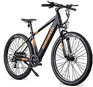 Fafrees Bicicleta de de Asistencia Eléctrica de 27.5 Pulgadas, Bicicleta de Montaña para Adultos con Motor de