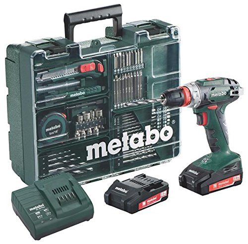 Preisvergleich Produktbild Metabo Mobile Werkstatt Akku - BS 18 Quick Set -