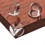 واقي الزاوية، واقي زوايا الطاولة الشفاف لحماية الطفل، غطاء لحواف الاثاث لسلامة الطفل - 12 عبوة