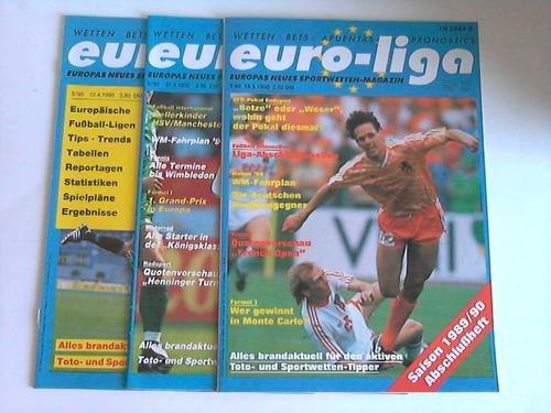 Europas neues Sportwetten-Magazin. Jahrgang 1990. 3 Hefte