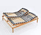 Baldiflex Rete ergonomica Ortopedica Linea Top Manuale in Legno - 170x200 cm