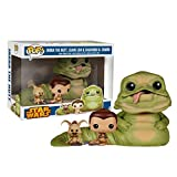 Star Wars Return of the Jedi Exclusive Jabba, Slave Leia & Salacious B. Crumb...