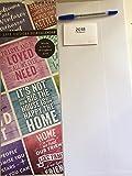 Telecharger Livres 2018 Vie Citations Tall fin Calendrier mural avec stylo gratuit et petit Calendrier de Noel Cadeau d anniversaire Citations Citations (PDF,EPUB,MOBI) gratuits en Francaise