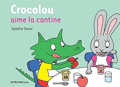 Crocolou aime la cantine par Ophélie Texier
